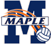 maple-volleyball